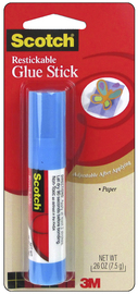 Scotch Restickable Glue Stick 7.5g