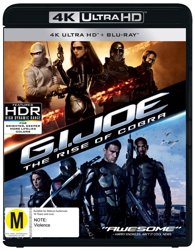 G.I Joe: Rise of Cobra on UHD Blu-ray