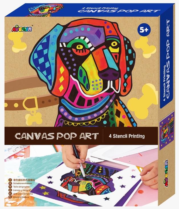 Avenir: Canvas Pop Art Kit - Dog