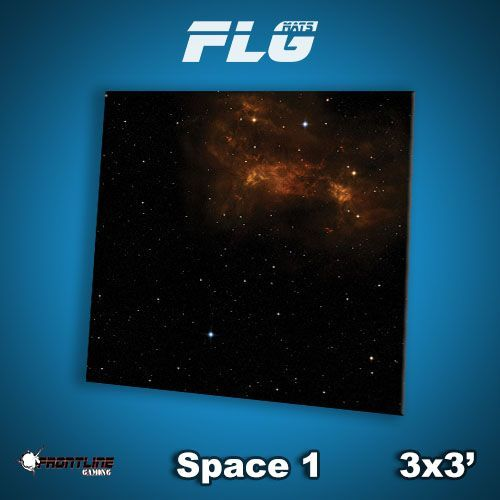 FLG Space #1 Neoprene Gaming Mat (3x3)