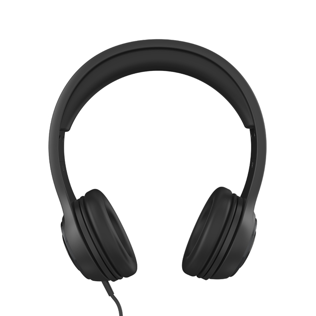 iFrogz: Aurora Wired Headphones with Mic - Black