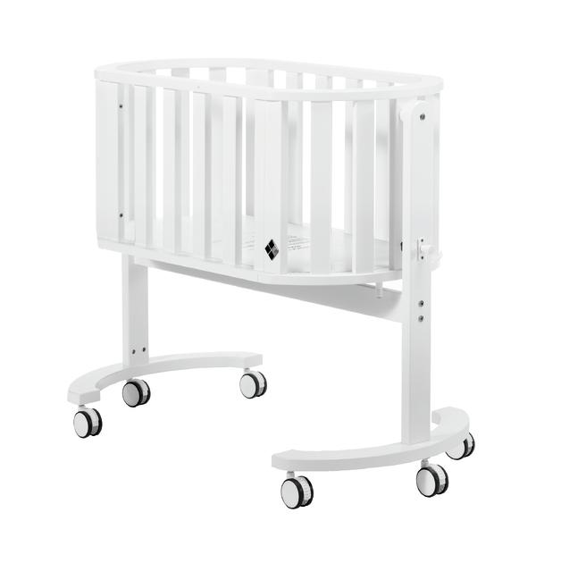 Bebe Care: Nordica Cradle - White Wash