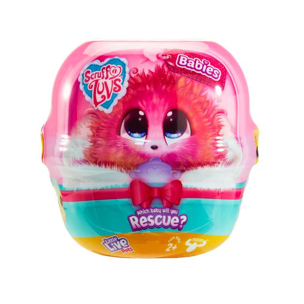 Scruff-a-Luvs: Surprise Plush - Babies S3 (Assorted Designs)
