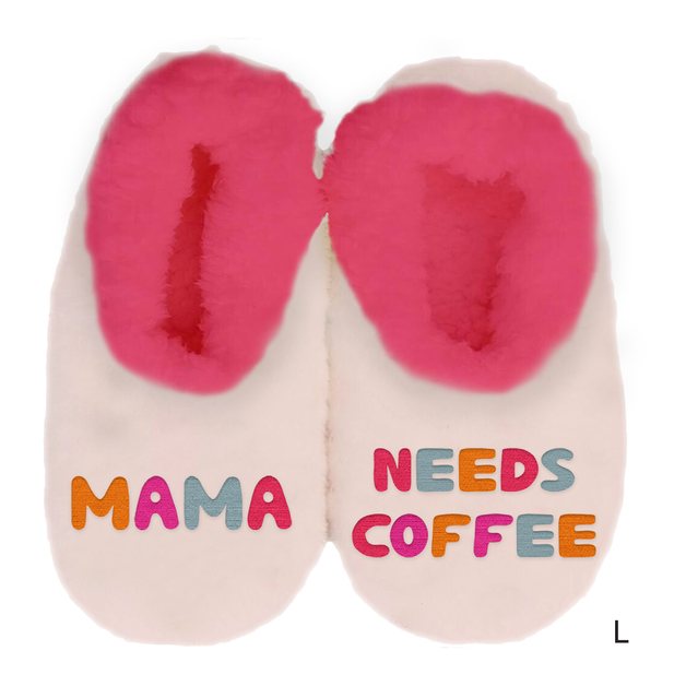 Sploshies: Mother's Day Duo Slippers - Coffee (Large)