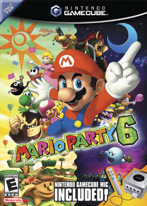 Mario Party 6 with Microphone for GameCube