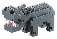 Brixies - Hippo Building Set