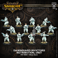 Warmachine: Retribution of Scyrah Dawnguard Invictors Unit