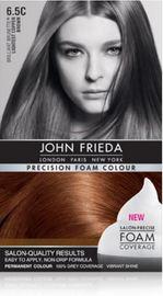 John Frieda - Precision Foam Colour: Brilliant Brunette - Lightest Copper Brown (6.5C)