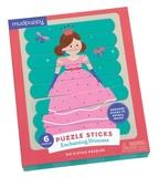 Mudpuppy: Puzzle Sticks - Enchanting Princess