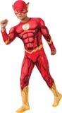 DC Comics: The Flash Deluxe Muscle Suit - (Size 3-5)