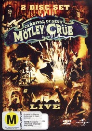 Motley Crue - Carnival of Sins on DVD image