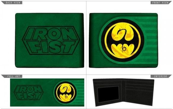 Marvel: Iron Fist - Bi-Fold Wallet