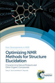 Optimizing NMR Methods for Structure Elucidation by Darcy Burns
