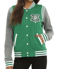 Harry Potter: Slytherin - Slim-Fit Varsity Jacket (Medium) image