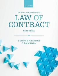 Koffman & Macdonald's Law of Contract by Elizabeth MacDonald