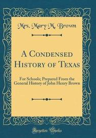 A Condensed History of Texas by Mrs Mary M Brown image