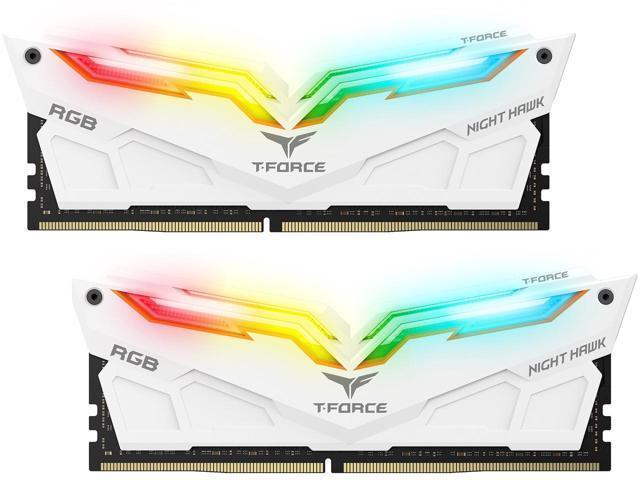2x16GB Team T-Force Night Hawk RGB 3200MHz DDR4 Gaming RAM image