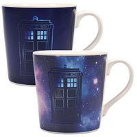 Doctor Who - Galaxy Heat Changing Mug