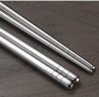 Stainless Steel Chopsticks Family Pack (5 Pairs)