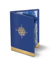 Lady Jayne: Compass Passport Cover