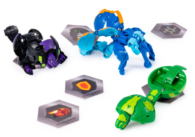 Bakugan: Battle Planet - Card Starter Set (Aquos Garganoid)