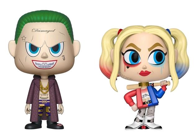 Suicide Squad: The Joker + Harley Quinn - Vynl. Figure 2-Pack
