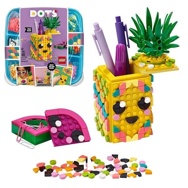 LEGO DOTS: Pineapple Pencil Holder - (41906)