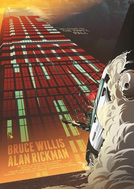 Die Hard: Premium Art Print - Movie Poster #2 image