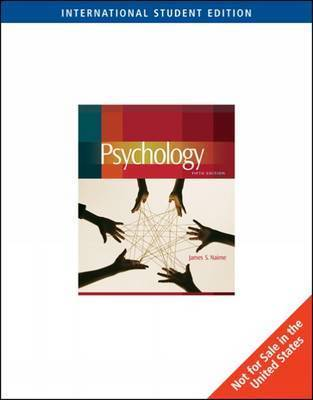 Psychology by James S Nairne