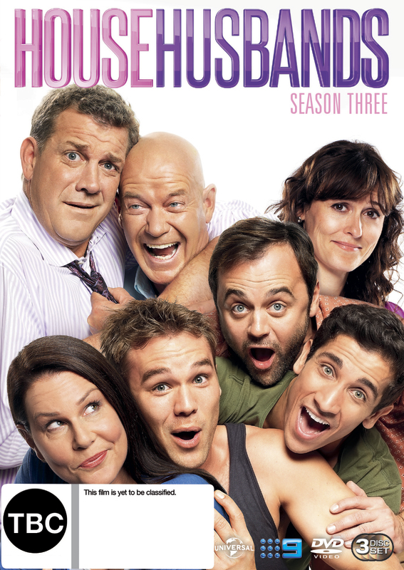 House Husbands - Season 3 on DVD