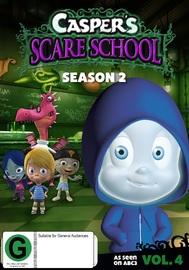 Casper's Scare School: Season 2 - Volume 4 on DVD