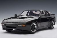 AUTOart 1:18 Porsche 924 Carrera GT (Black) Diecast Model