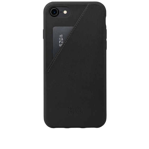 factory price abb44 0fe92 Native Union Clic Card Case for iPhone 7 Plus (Black) | at Mighty Ape NZ
