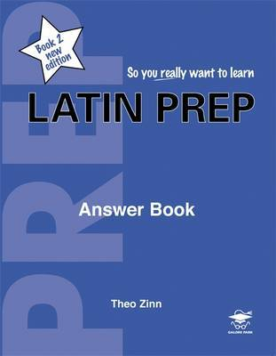Latin Prep: Book 2 by Theo Zinn image
