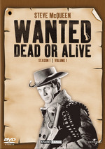 Wanted - Dead Or Alive: Season 1 - Vol. 1 (3 Disc Set) on DVD