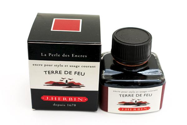 J Herbin: Fountain Pen Ink - Terre de Feu (30ml)
