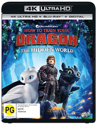 How To Train Your Dragon: The Hidden World on UHD Blu-ray image