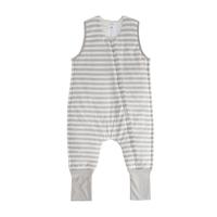 Woolbabe: Duvet Sleeping Suit - Pebble (2 Years)