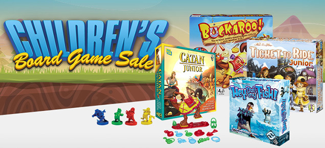Children's Board Game Sale!