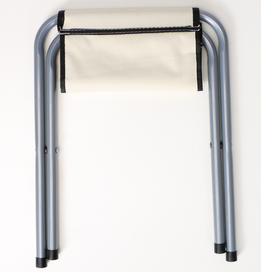 Outdoor Camping Compact Folding Chair | Colour: White image