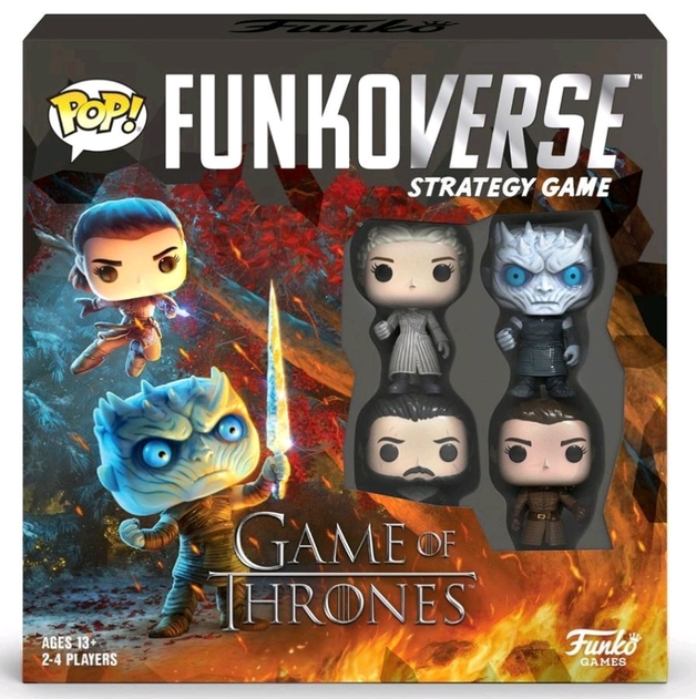 Funkoverse: Game of Thrones - Board Game (4-Pk)