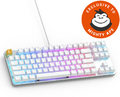 Glorious PC Gaming GMMK TKL Mechanical Keyboard (White) (USA - Prebuilt) for PC