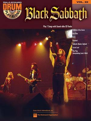 Black Sabbath: Drum Play-Along Volume 22