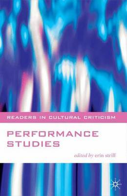 Performance Studies by Erin Striff image
