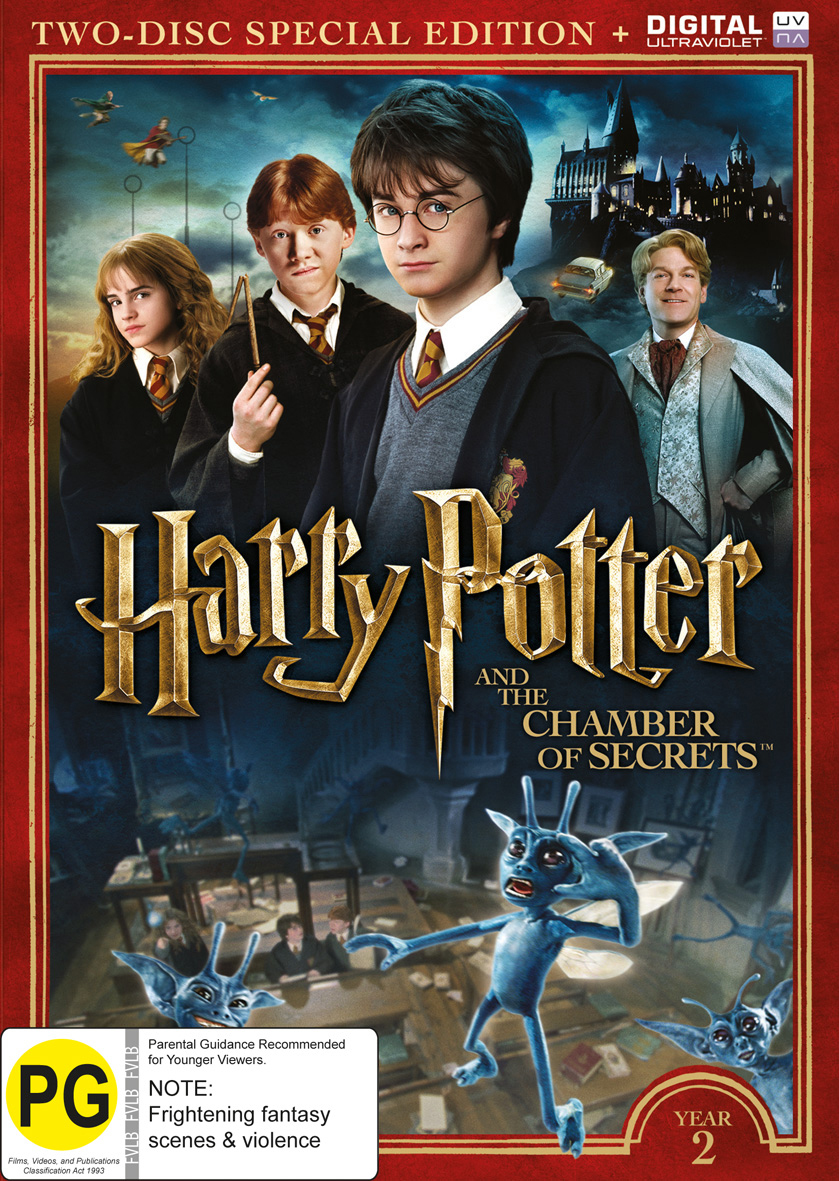 Harry potter year 2 the chamber of secrets dvd buy - Harry potter chambre secrets streaming ...