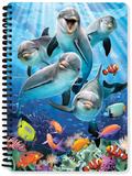 Dolphin Delight A5 Lenticular Notebook