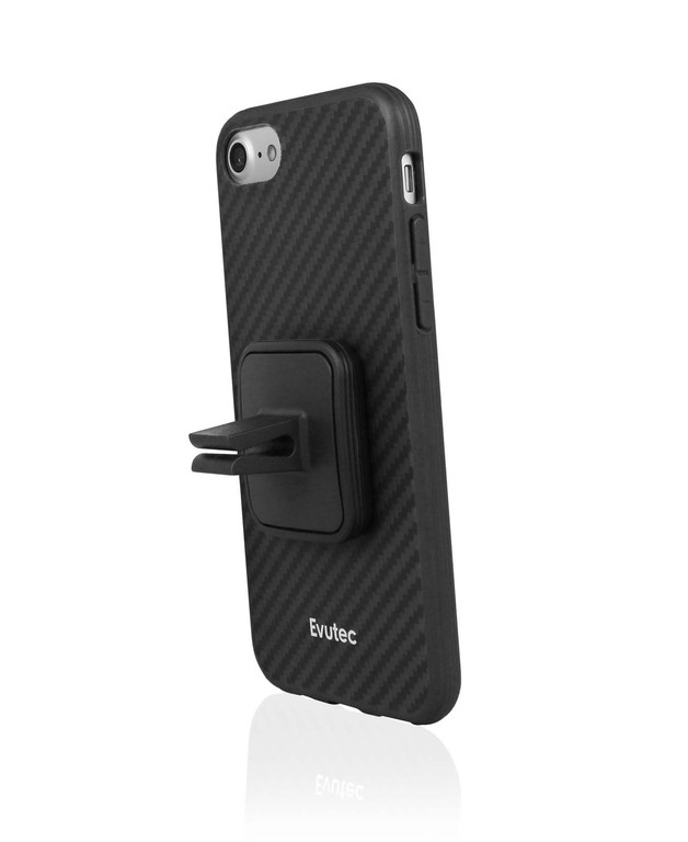reputable site 32e4b 46c54 Evutec iPhone 7 Plus AER Karbon Case with AFIX - Black | at Mighty ...
