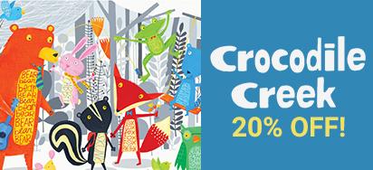 20% OFF Crocodile Creek Kids Homewares!
