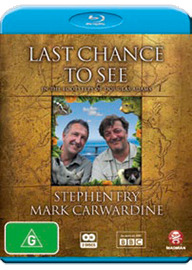 Last Chance to See - With Stephen Fry on Blu-ray