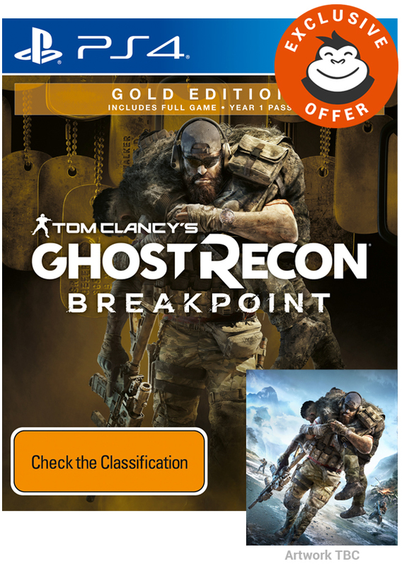 Tom Clancy's Ghost Recon Breakpoint Gold Edition for PS4